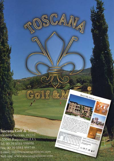 Catalogue of the Toscana Golf & More edition 2001