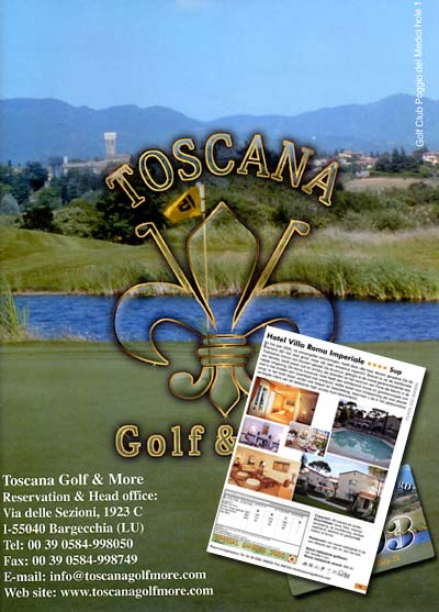 Catalogo Toscana Golf & More edizione 2003