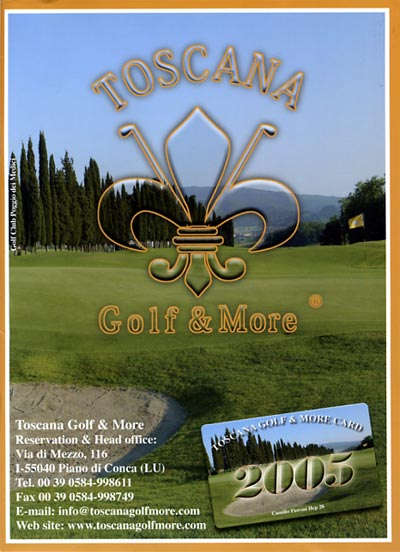 Catalogue of the Toscana Golf & More edition 2005