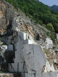Cave of Carrara marble