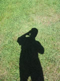 Self-portrait within the shadow