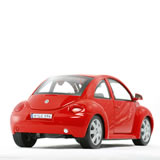 New Beetle di tre quarti retro